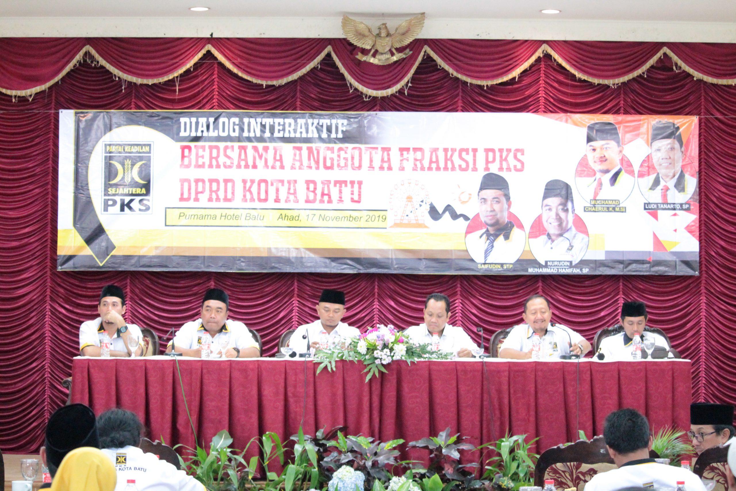 Dialog Interaktif Bersama F-PKS Kota Batu