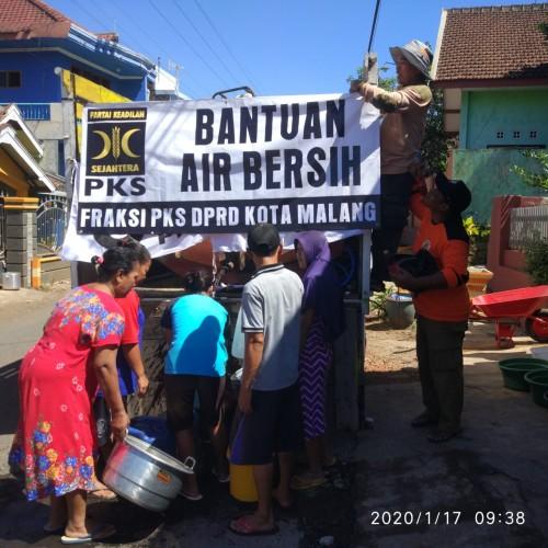 f-pks kota malang peduli krisis air