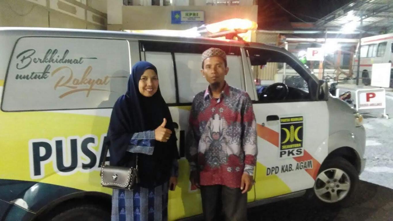 supir ambulan seorang anggota dewan - pks kota batu