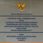lpj banpol 2017 PKS Kota Batu