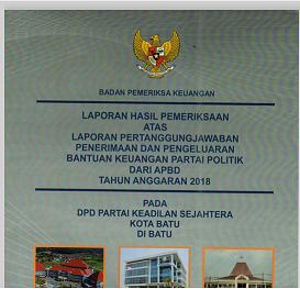 lpj banpol 2018 PKS Kota Batu